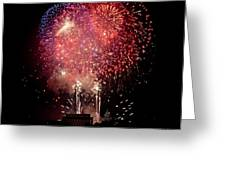 America's Celebration Greeting Card by David Hahn