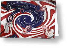Americas Palette Greeting Card