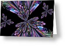 Amethyst Affair Greeting Card