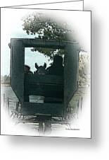 Amish Buggy Ride Greeting Card