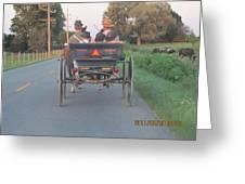 Amish Convertible Greeting Card