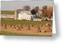 Amish Countryside Greeting Card