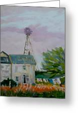 Amish Farmhouse Greeting Card