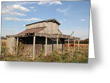 Amish Shed #3 Greeting Card