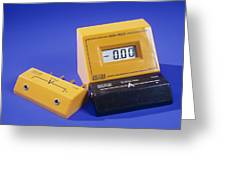 Ammeter And Voltage Multiplier Greeting Card