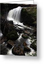 Ampitheatre Falls Greeting Card