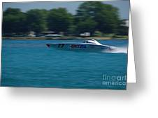 Amsoil Offshore Racer Greeting Card
