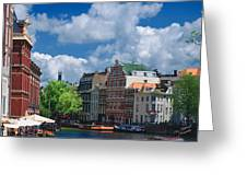 Amsterdam Canal 2007 Greeting Card