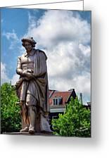 Amsterdam Statue 2007 Greeting Card