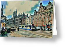 Amsterdam Tour  Streets 1 Greeting Card