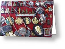 Amulets For Sale Greeting Card