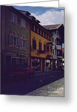 An Afternoon In Germany  Greeting Card