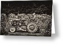 An American Farmer Greeting Card