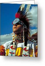 An American Indian No1 Greeting Card