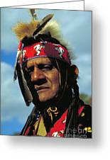 An American Indian No2 Greeting Card