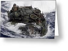 An Amphibious Assault Vehicle Greeting Card