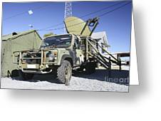 An Australian Defense Force Satellite Greeting Card