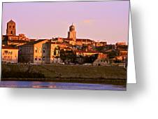 An Evening In Arles  Greeting Card