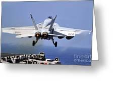 An Fa-18e Super Hornet Takes Greeting Card