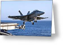 An Fa-18f Super Hornet Takes Greeting Card