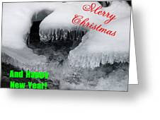 An Icy Christmas Greeting Card