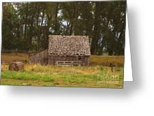 An Idaho Barn Greeting Card