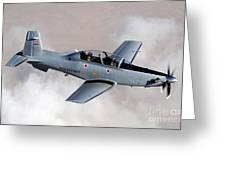 An Iraqi Air Force T-6 Texan Trainer Greeting Card