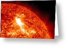 An M8.7 Class Flare Erupts On The Suns Greeting Card