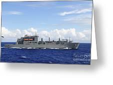 An Mh-60s Sea Hawk Prepares To Drop Greeting Card