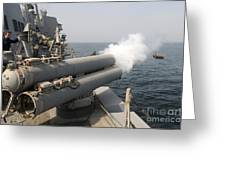 An Mk-46 Recoverable Exercise Torpedo Greeting Card
