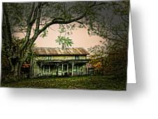 An Old Home Place Greeting Card
