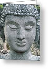 Ancient Buddha Statue Greeting Card