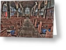 Ancient Lingfield Church Greeting Card