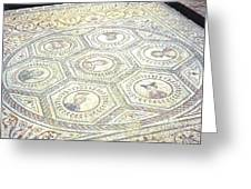 Ancient Spanish Mosaic Greeting Card