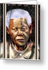 And God Remembered Prisoner 46664 Greeting Card by Reggie Duffie