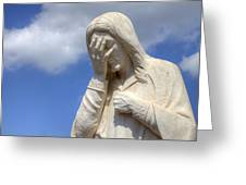 And Jesus Wept IIi Greeting Card