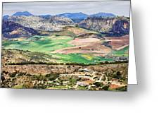 Andalucia Countryside Greeting Card