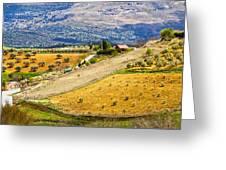 Andalusia Countryside Panorama Greeting Card