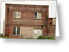 Andalusia Grocery Co Greeting Card