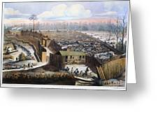 Andersonville Prison, 1864 Greeting Card