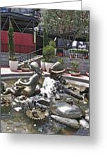 Andrea's Fountain At Ghirardelli Square Greeting Card