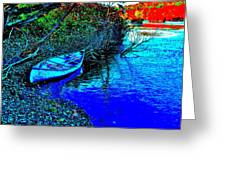 Andy River 17 Greeting Card