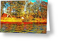 Andy River 9 Greeting Card
