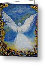 Angel Among Us Greeting Card