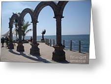 Angel At Puerto Vallarta Greeting Card