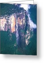 Angel Falls In Venezuela Greeting Card
