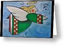 Angel Flight Poster Greeting Card