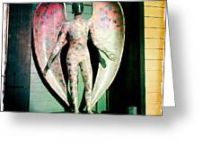 Angel In The City Of Angels Greeting Card