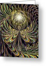 Angel In The Midst Greeting Card