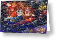 Angel Koi Blend Greeting Card